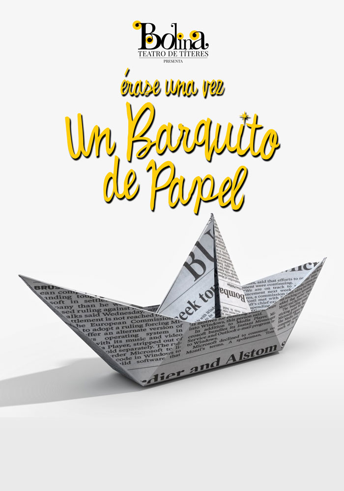 Bolina-Titeres-Compañia-de-teatro-Islas-Canarias-Pasacalles-Muntu-Un-Barquito-de-Papel-Cartel-01